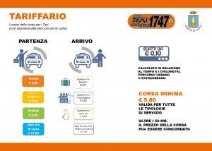Tariffe Taxi Latina